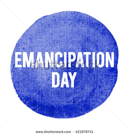 Emancipation Day Ink Blot