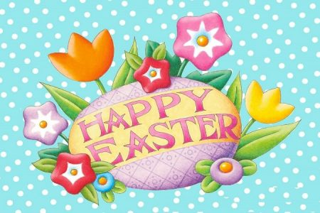 Happy Easter 2017 Beautiful Greeting Card