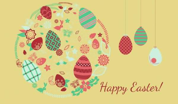 Happy Easter 2017 Greeting Card