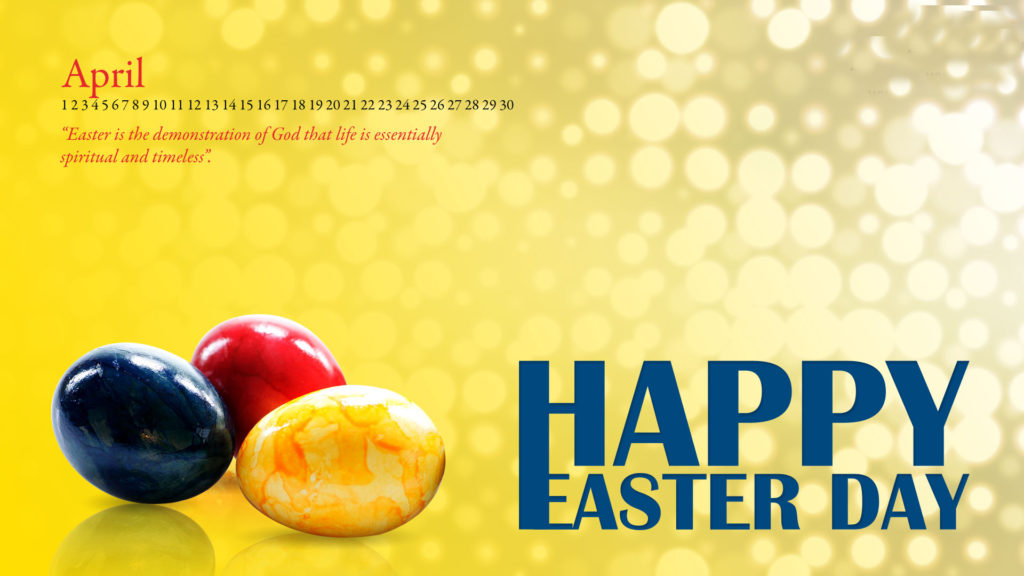 Happy Easter Day 2017 Card