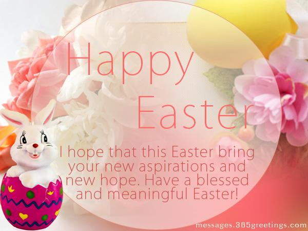 Happy Easter I Hope That This Easter Bring Your New Aspirations And New Hope