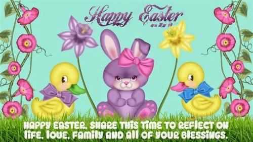 Happy Easter Share This Time To Reflect On Life