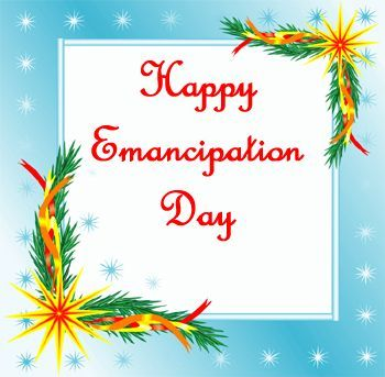 Happy Emancipation Day 2017 Card