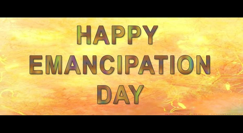 Happy Emancipation Day 2017