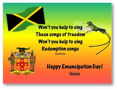 Happy Emancipation Day Helen Quote
