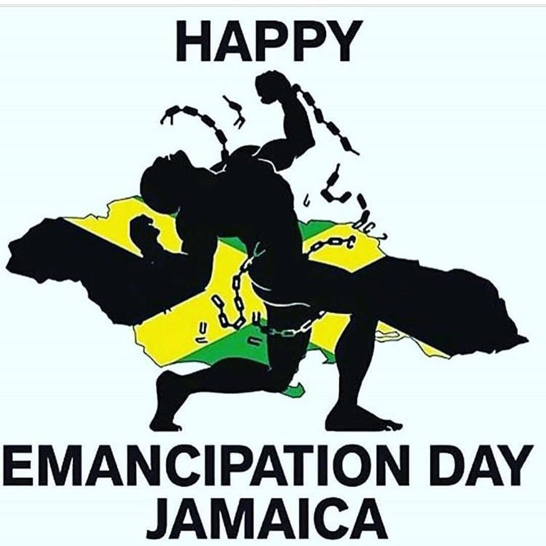 Happy Emancipation Day Jamaica Poster