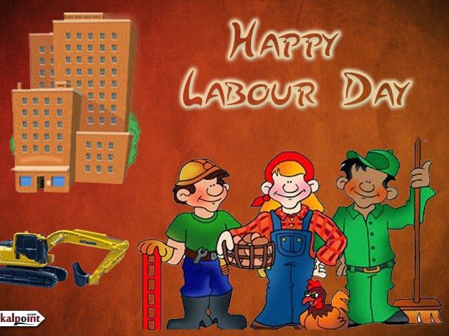50 best international labour day 2017 wish pictures happy labour day workers cartoon picture m4hsunfo