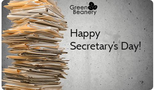Happy Secretaries Day Files