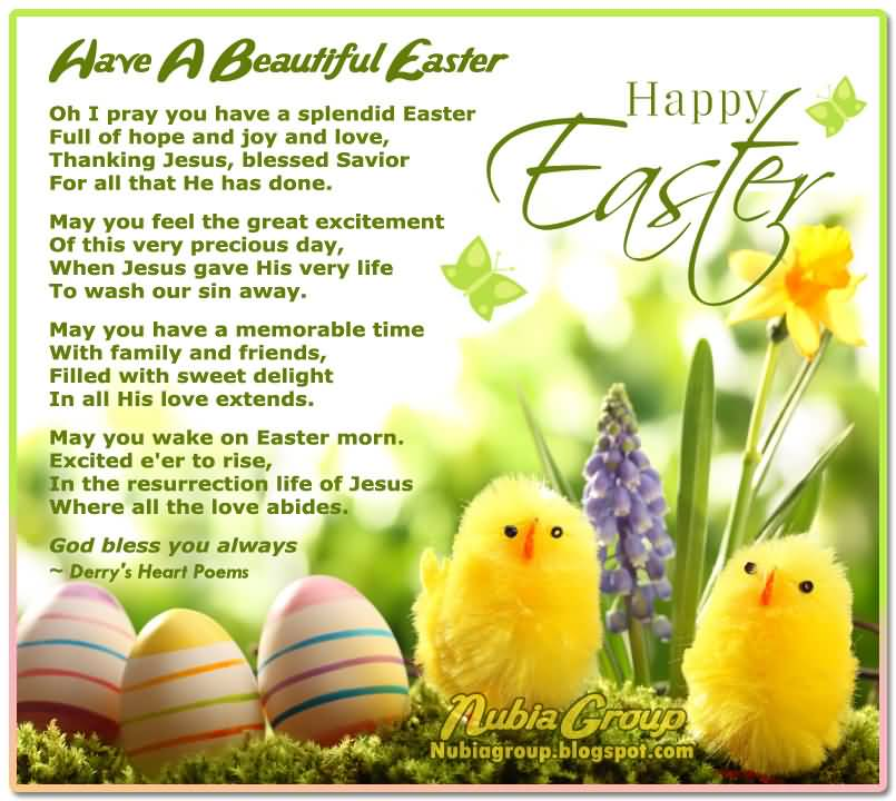 Have A Beautiful Easter Happy Easter