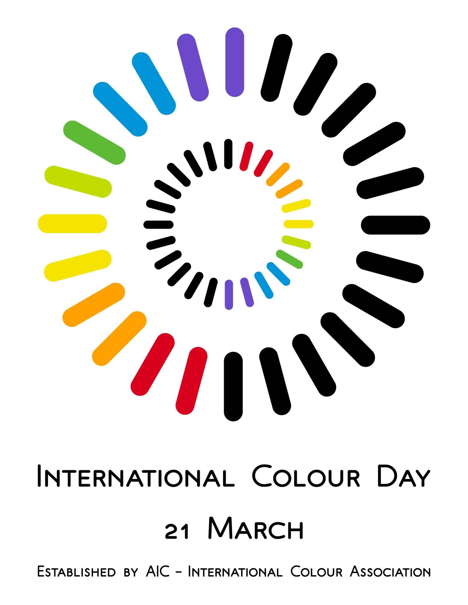 21 International Fashion Magazine You Ll Love: International Colour Day 21 March Poster