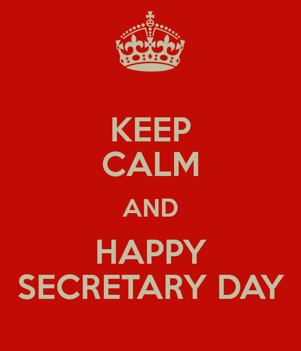 16 Best Secretary Day 2017 Wish Pictures