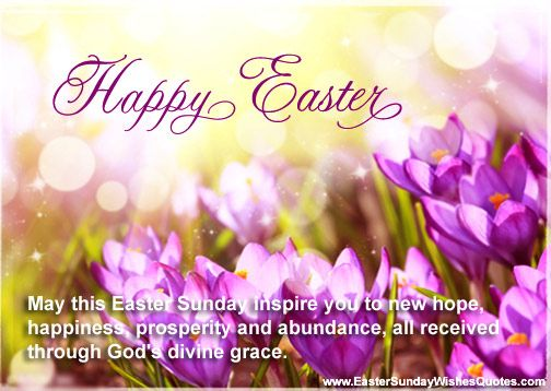 60 adorable easter 2017 greeting card pictures and images may this easter sunday inspire you to new hope card m4hsunfo