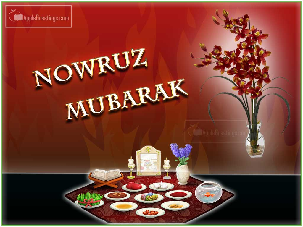 Nowruz mubarak greeting card m4hsunfo