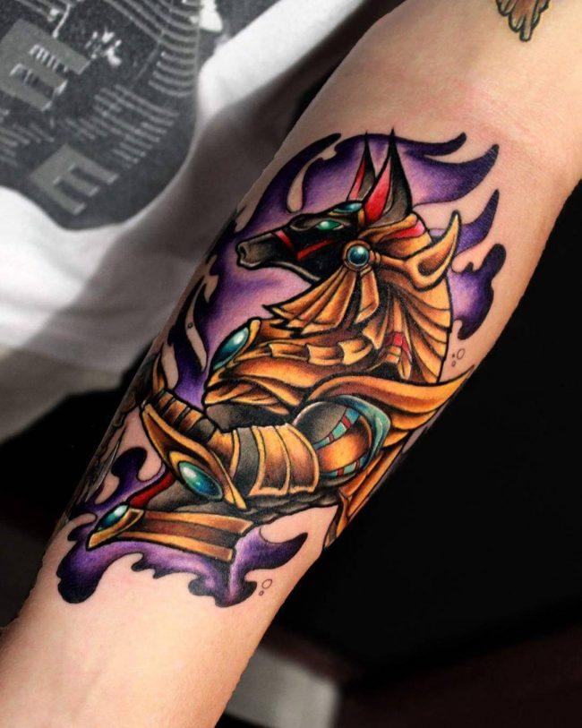 51+ Best Anubis Tattoos Design And Ideas