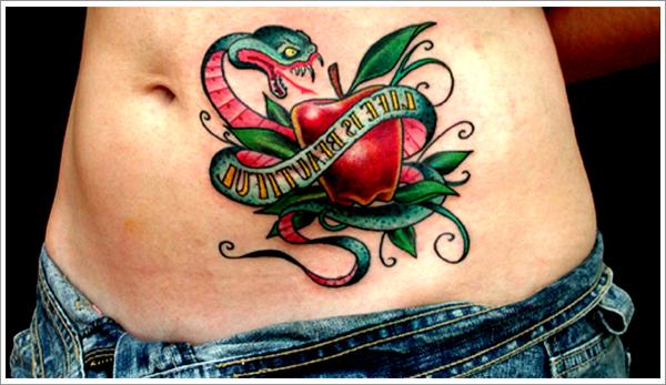 64+ Best Apple Tattoos Design And Ideas
