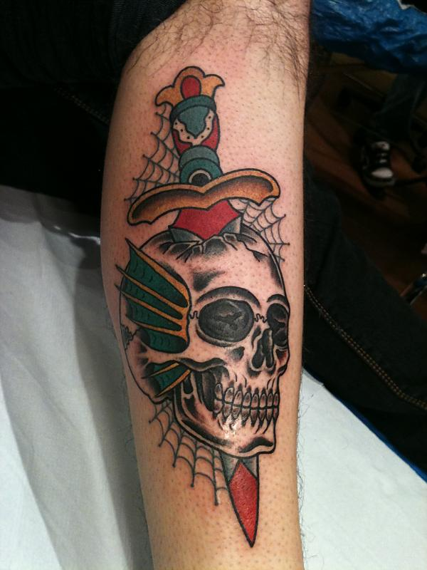 53 Best Dagger Tattoos Design And Ideas border=