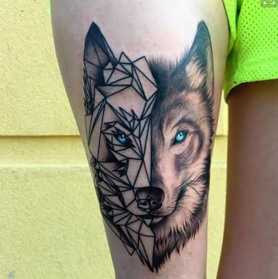 46 Unique Wolf Head Tattoos Ideas: 53+ Best Animals Tattoos Design And Ideas