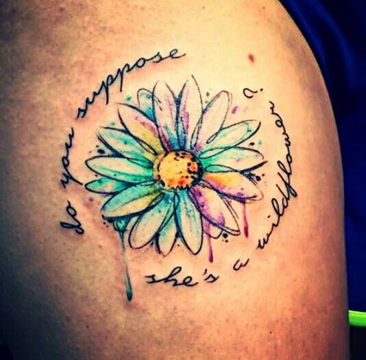 7dcb33e64397 Arriving Watch Flower Tattoo Alice In Wonderland Love Tge Flowers Imclao Com