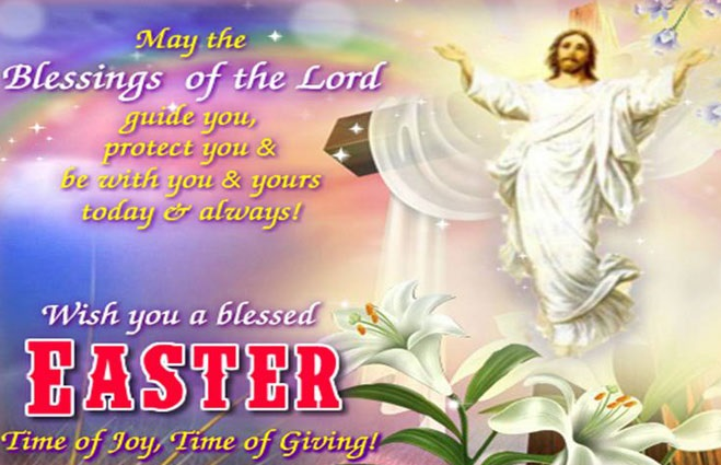 Wish You A Blessed Easter Time Of Joy, Time Of Glory
