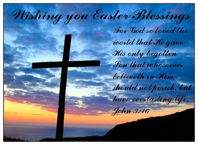 Wishing You Easter Blessings Ecard
