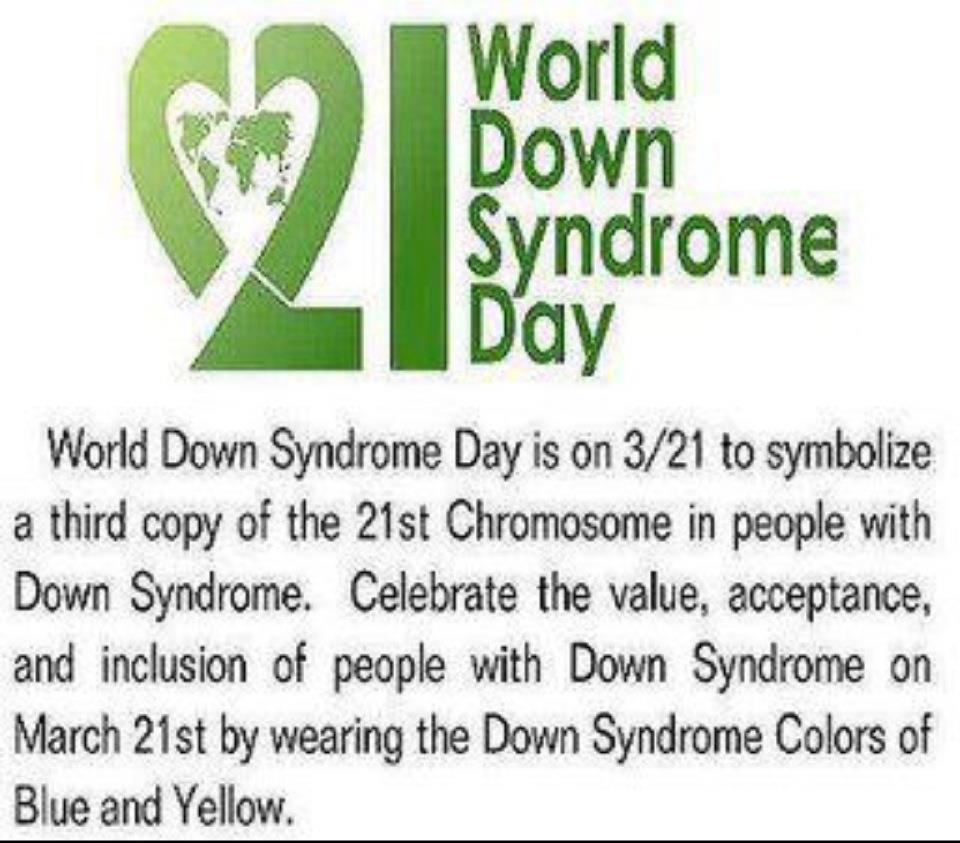 46+ Best World Down Syndrome Day 2017 Wish Pictures