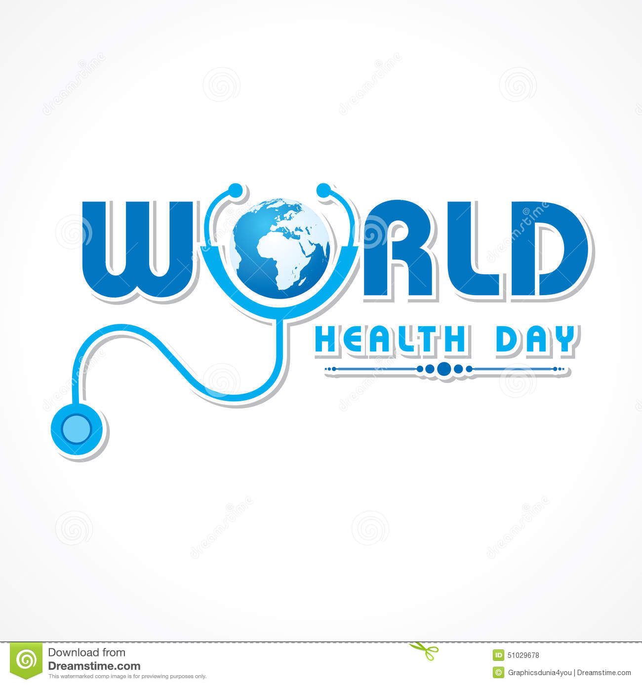 World Health Day 2017 Card