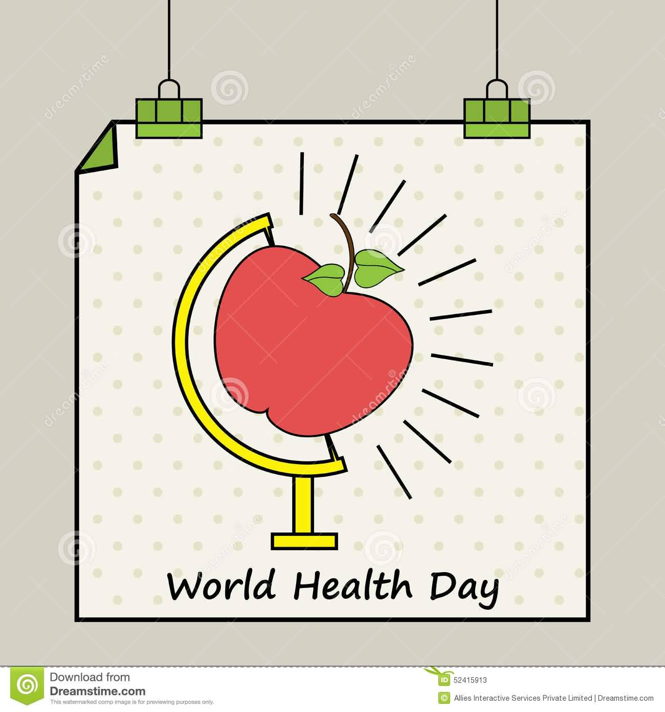 World Health Day Hanging Poster