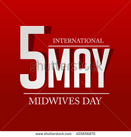 5 May International Midwives Day Card