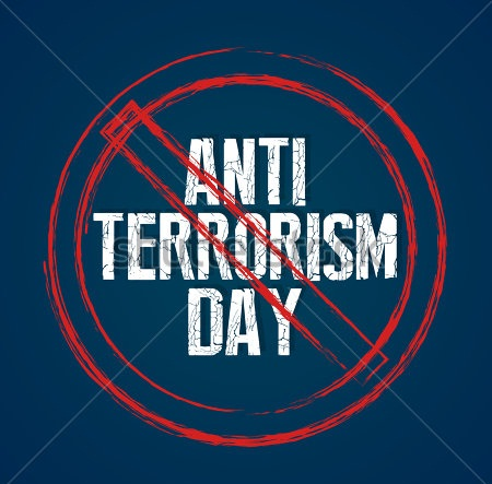 Anti Terrorism Day Card
