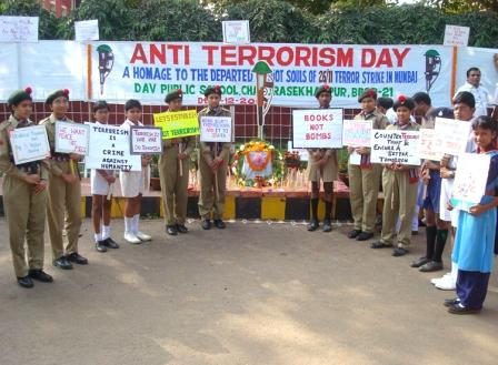 Anti Terrorism Day Celebration