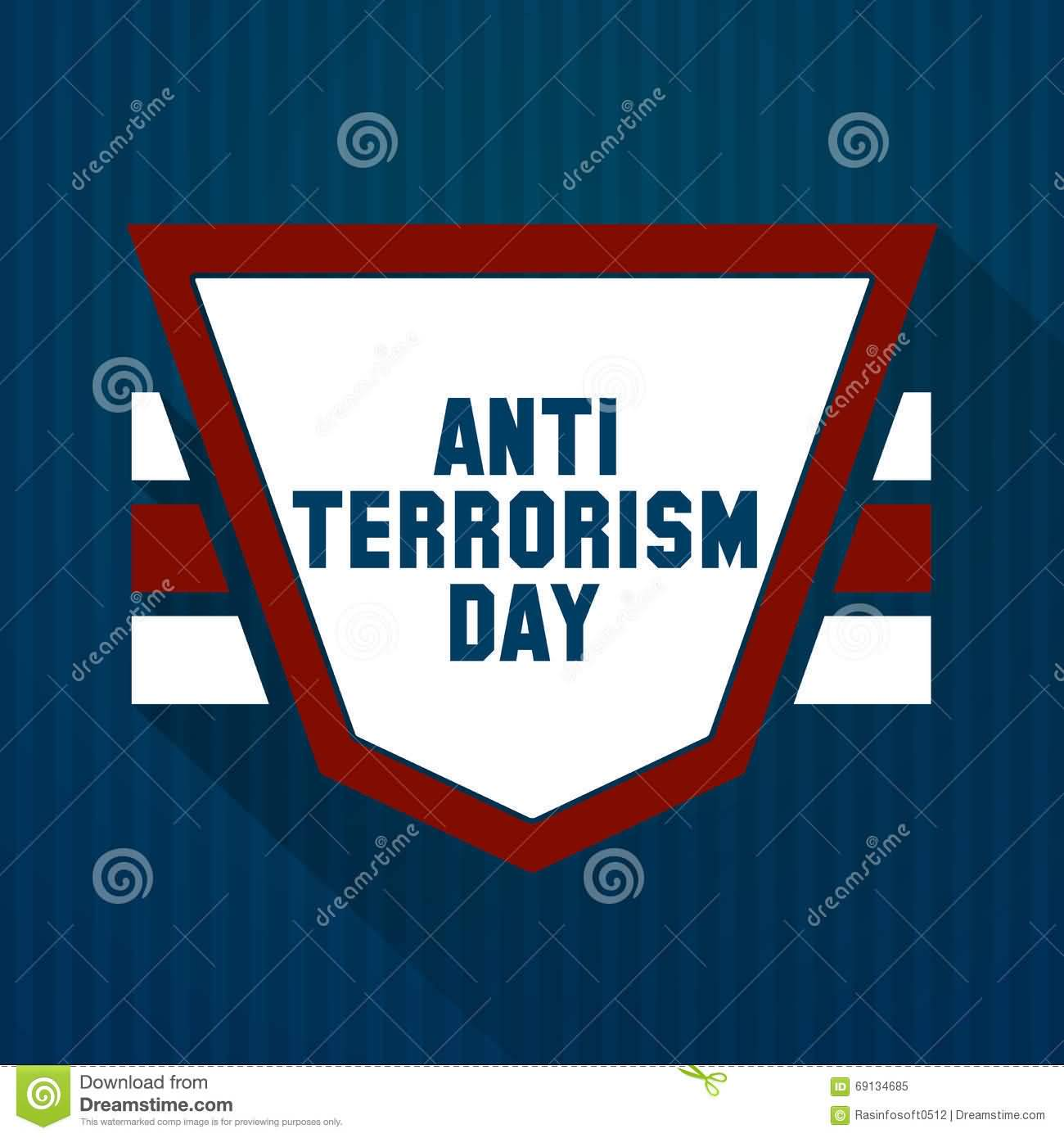 Anti Terrorism Day Illustration