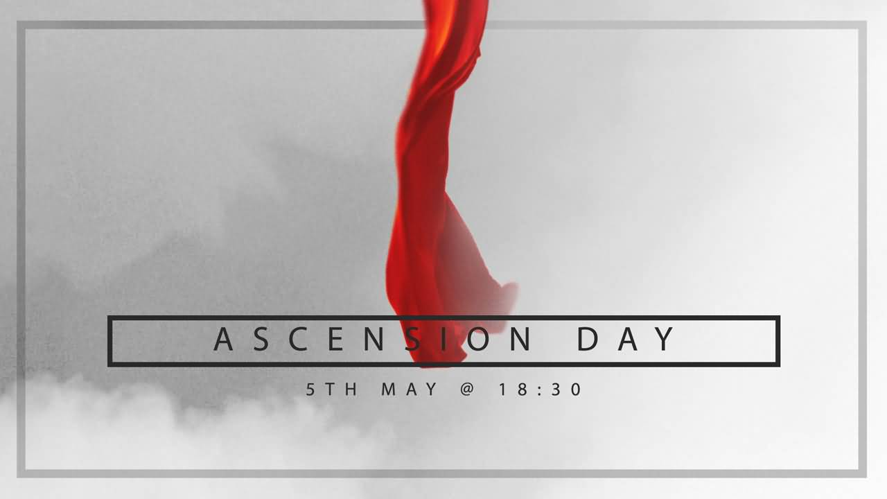 ascension day clipart