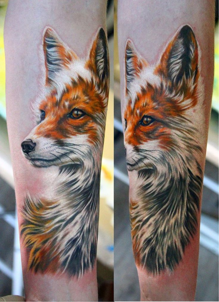 63+ Best Fox Tattoos Design And Ideas