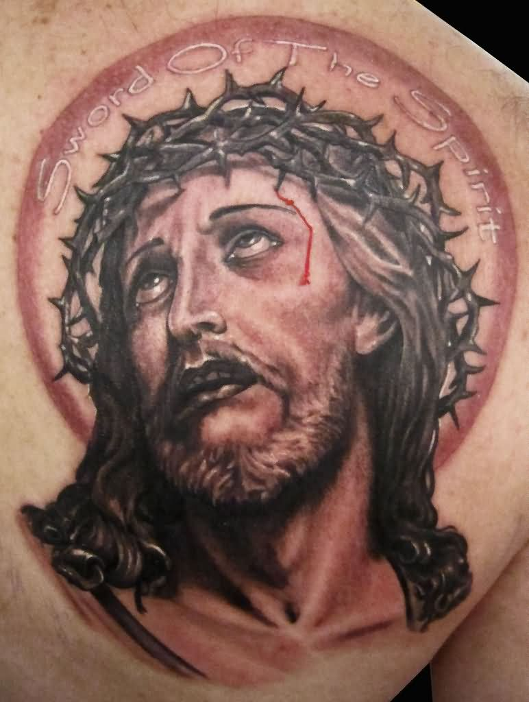 52 best jesus tattoos design and ideas for Tattoos of black jesus
