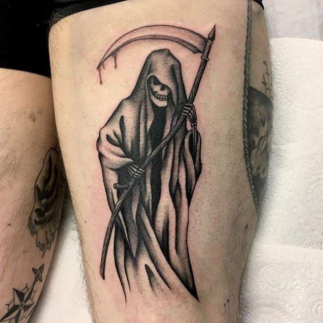 64 Best Grim Reaper Tattoos Design And Ideas