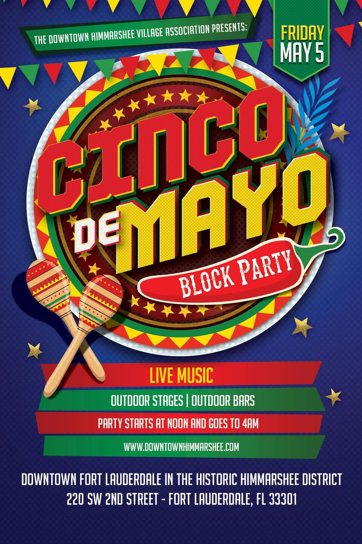 Cinco de mayo celebration clipart cinco de mayo block party poster kristyandbryce Gallery