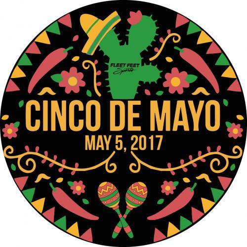 cinco de mayo may 5, 2017 round sticker