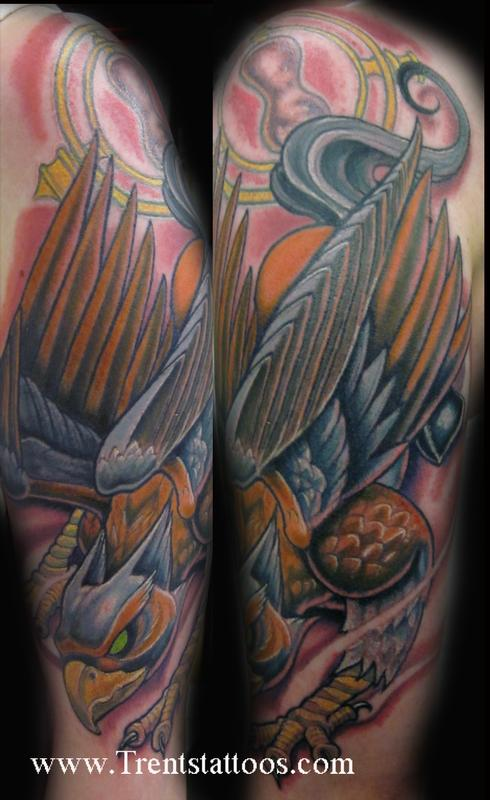 56 best griffin tattoos design and ideas