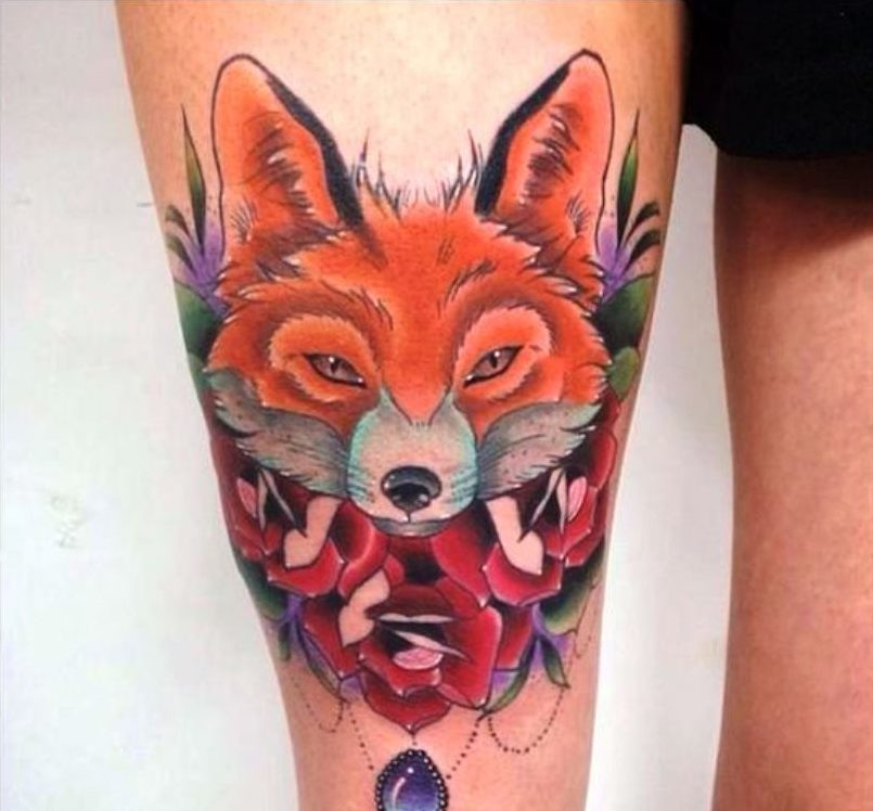 63+ Best Fox Tattoos Design And Ideas