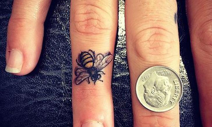 43 best insect tattoos design and ideas for Finger tattoo care instructions