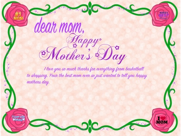 60 beautiful mother s day 2017 greeting card pictures Good ideas for mothers day card
