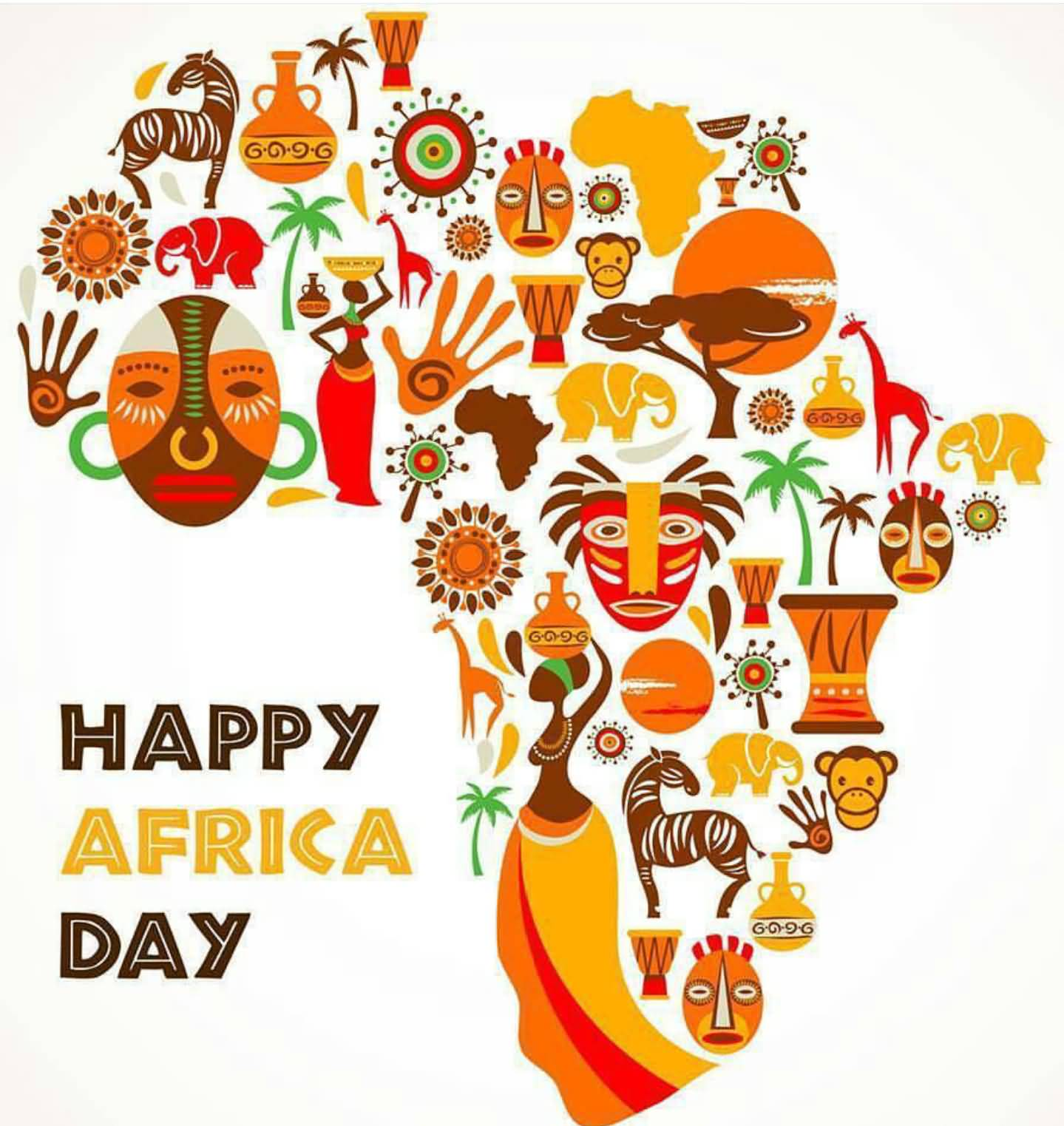 Happy Africa Day African Art
