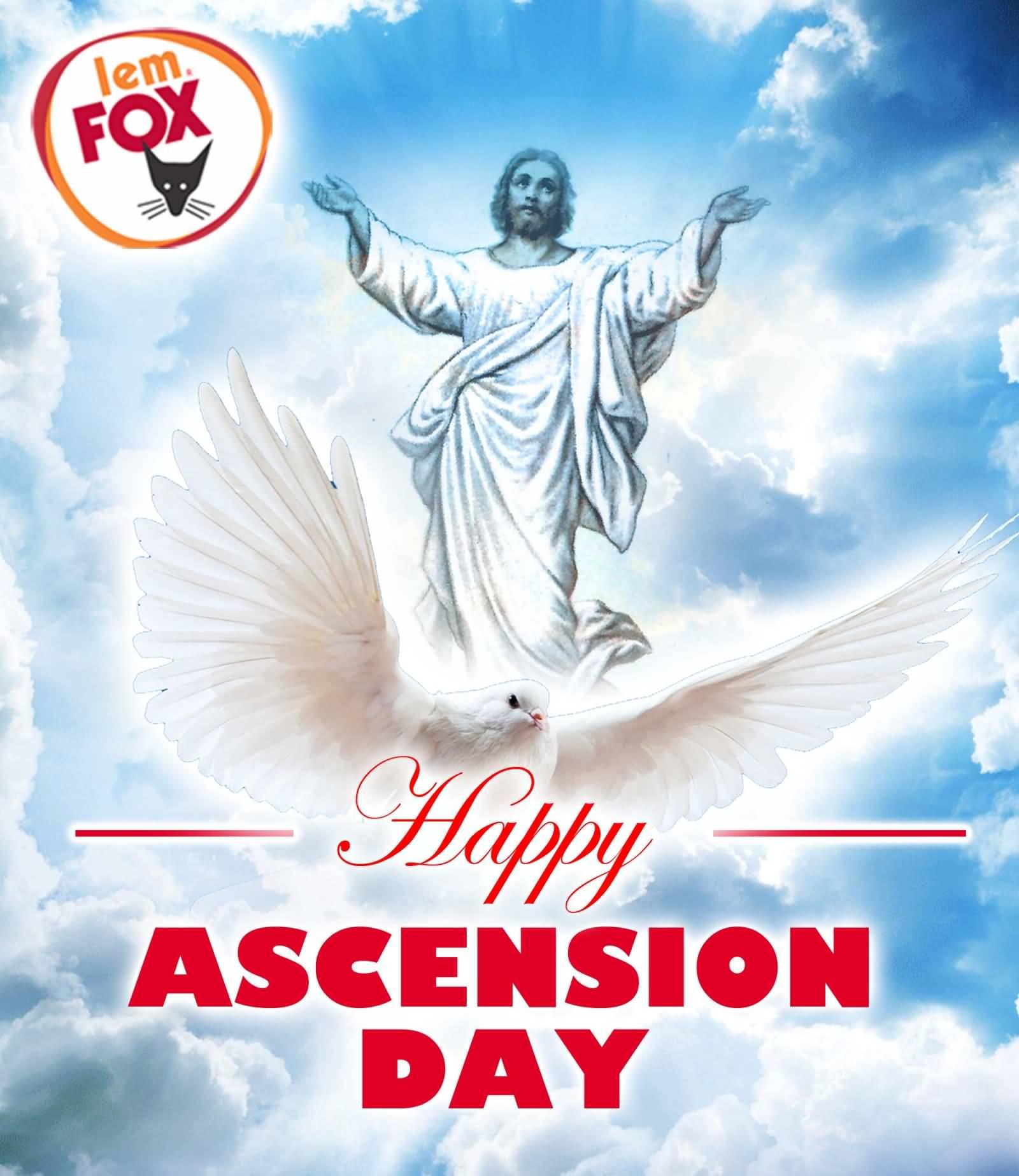 Happy Ascension Day Jesus Christ