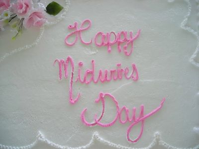 Happy Midwives Day Cake
