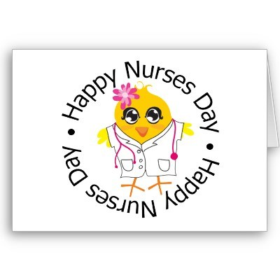 Happy nurses day greeting card m4hsunfo