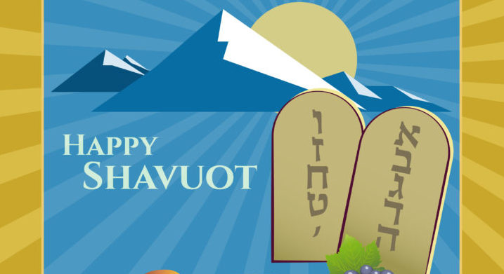 Happy Shavuot 2017 Card