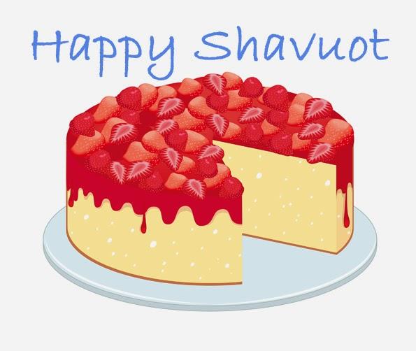 Happy Shavuot Cake
