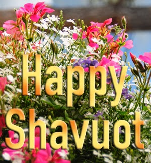 Happy Shavuot Flowers Picture