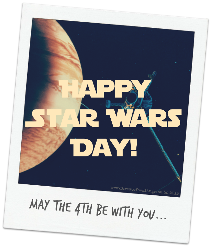 May The Fourth Be With You Recipes: Happy Star Wars Day May The 4th Be With You Card