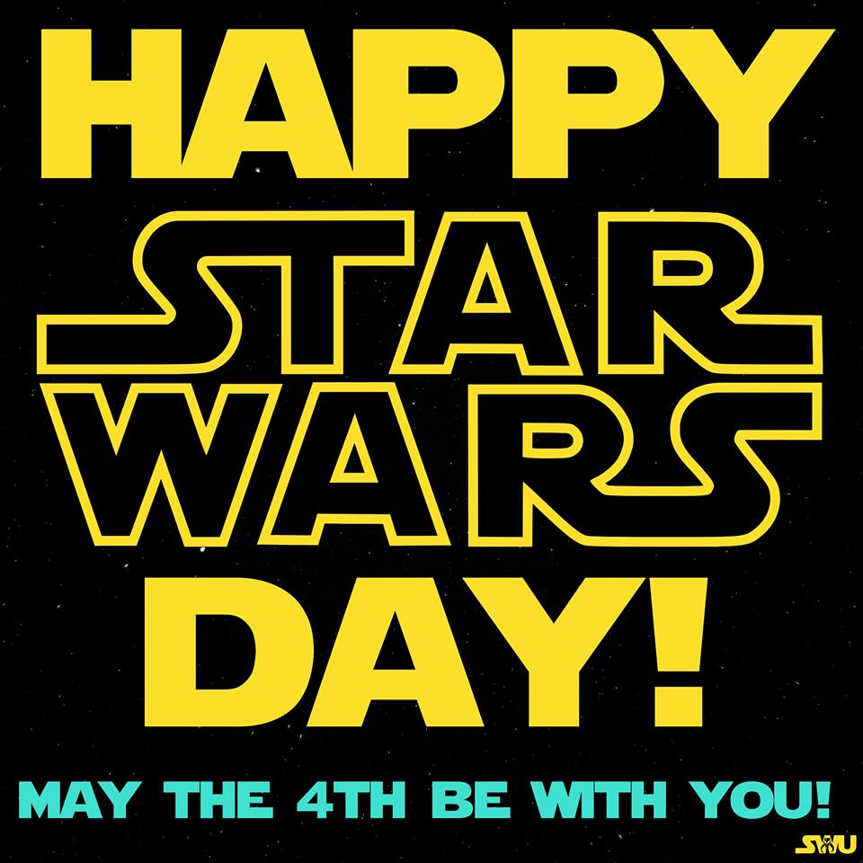 May The 4th Be With You Clip Art: Star Wars Day May The 4th Be With You